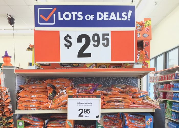 Big Lots Is The Last Place You Should Be Shopping For Halloween Candy Most Of It Overpriced And Small Amount That Priced Low