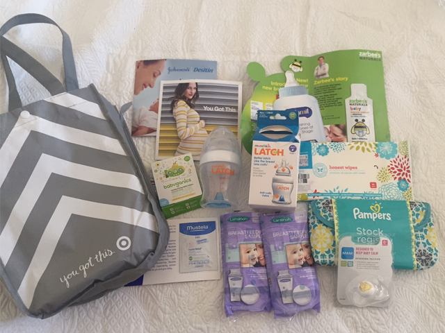 Target Baby Registry Bag Of Freebies