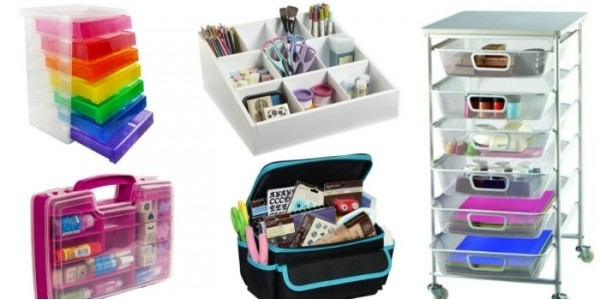 Buy 1 Get 1 FREE Craft Storage @ Michael's