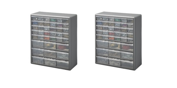 Stack-On 39-Drawer Storage Cabinet $12.88