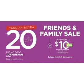 Take An Extra 20% Off @ Kohls
