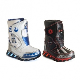 Star Wars Light-Up Boots 2 For $22