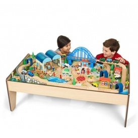 Imaginarium All In One Wooden Train Table $48 (Reg. $79.98) @ Toys R Us