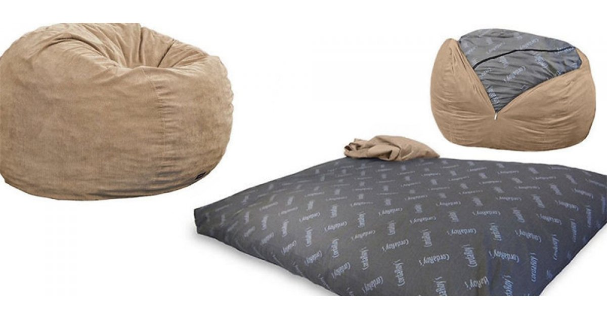 Cordaroy S Full Size Bed Bean Bag Chair 190 Reg 260