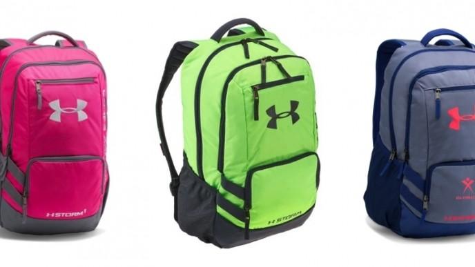 38cf31ef6fb6 UA Storm Hustle II Backpacks (11 Colors) Just $27 (reg. $55) @ Under ...