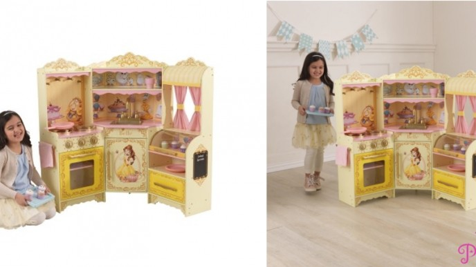 Save Over 100 On This Disney Princess Belle Pastry Kitchen