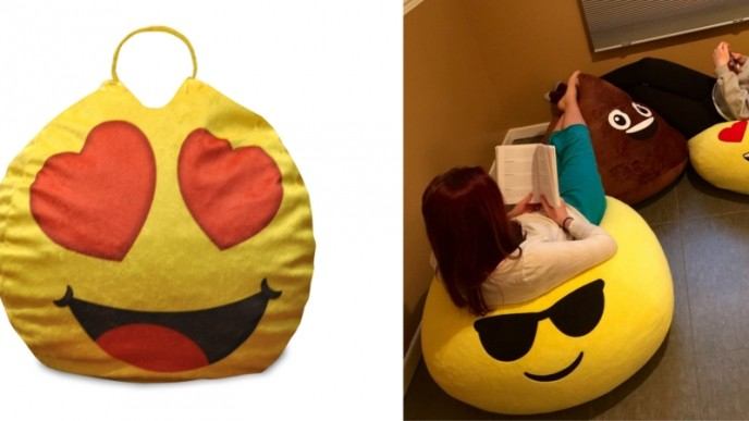 Stupendous Emoji Pals Bean Bag Chairs 5 Walmart Gmtry Best Dining Table And Chair Ideas Images Gmtryco