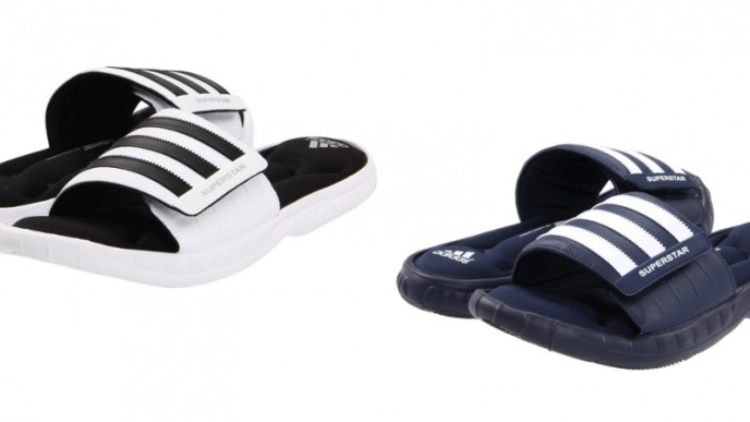 sale retailer 0a7c6 6ce61 Adidas Superstar 3G Slides Only $17 + Free Shipping @ eBay