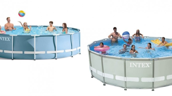 Intex 14ft X 42in Ultra Frame Pool Only $200 @ Amazon