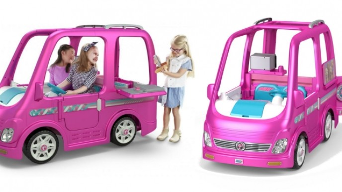 Pre Order Your Power Wheels Barbie Dream Camper Now At Walmart