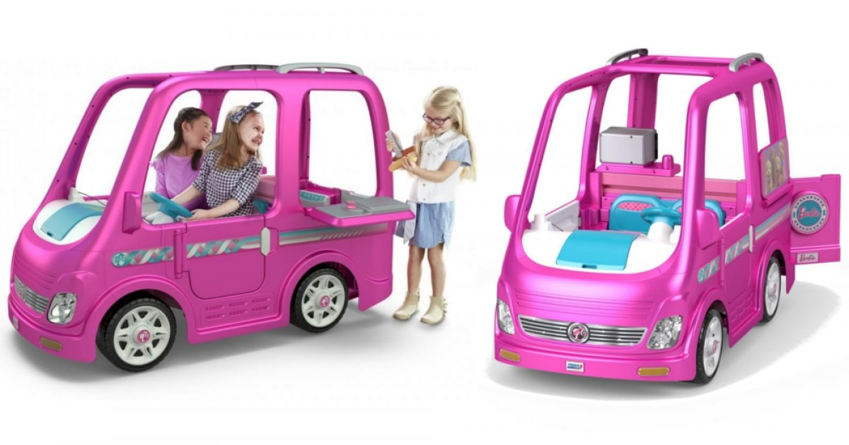 Pre Order Your Power Wheels Barbie Dream Camper Now Walmart