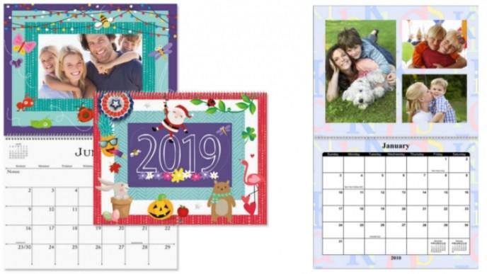 Free Personalized 2019 Calendar Shutterfly