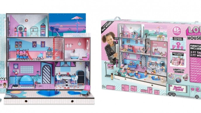 The L O L Surprise Doll House Is Available Amazon