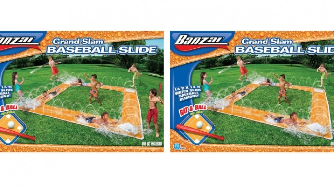 prix compétitif sélectionner pour plus récent dernier style Grand Slam Baseball Slip & Slide Down To $27 @ Amazon