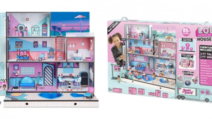The L O L Surprise Doll House Is Available Walmart