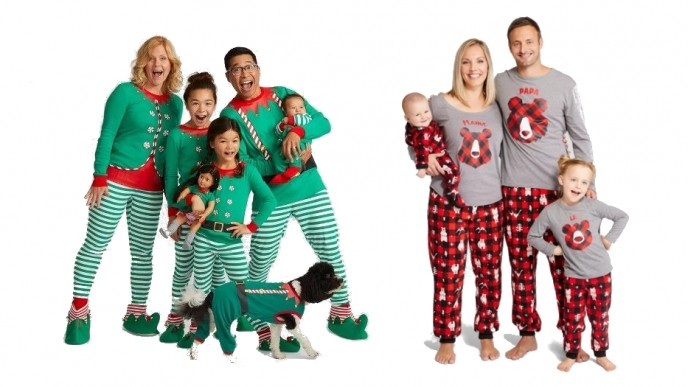 14257dd1b7 Matching Family Christmas Pajamas Just  9   Target