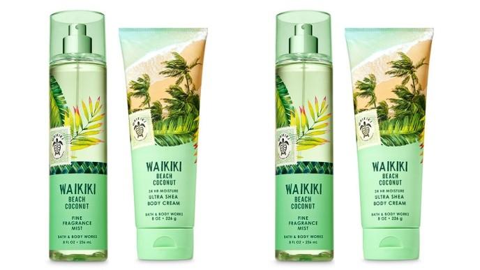 Free Waikiki Beach Bundle With Any Purchase Bath Body Works