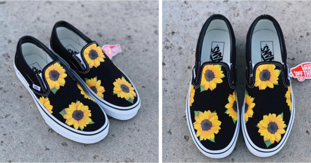 vans with sunflowers Limit discounts