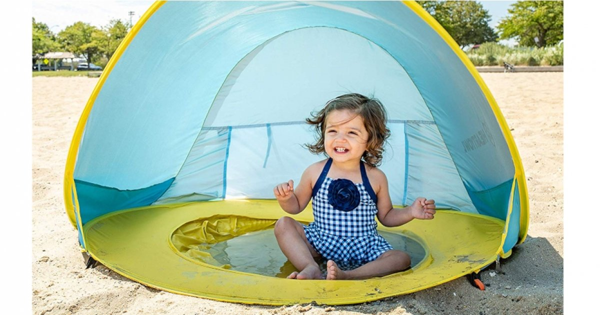 Baby Pool Beach Tent Just 22 Amazon