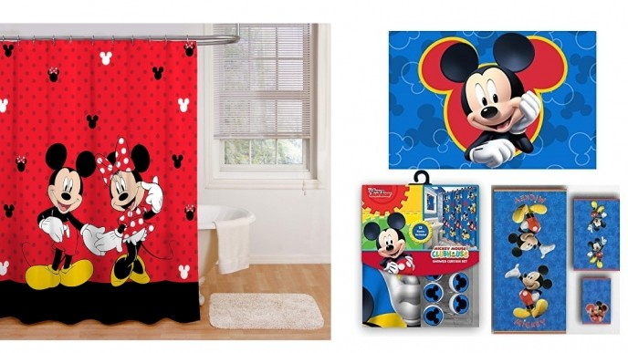 Check Out The Mickey Mouse Bathroom Collection