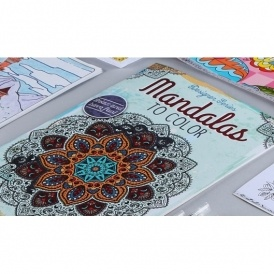 Adult Coloring Books Just $2 @ Hollar