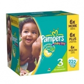 30% Off Pampers Diapers Coupon @ Amazon