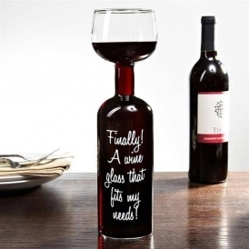 Wine Bottle Glass Just $16 @ Groupon
