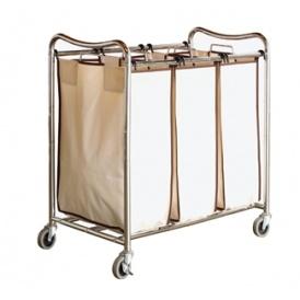 3-Bag Laundry Sorter Cart $4