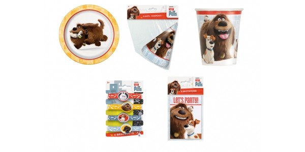 The Secret Life of Pets Party Supplies from $1 @ Hollar