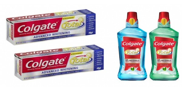 8-Pack Colgate Total Whitening Toothpaste $14 + $5 Gift Card @ Target