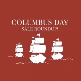 Columbus Day Sale Round Up