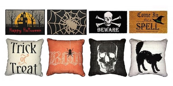 Halloween Doormats & Pillows As Low As $5 @ Kmart
