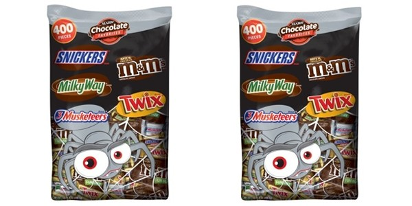 Mars Chocolate Favorites Halloween Candy (400-Pieces) $21.70 @ Walmart