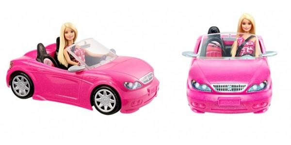Barbie Doll & Convertible Car $13 @ Kmart