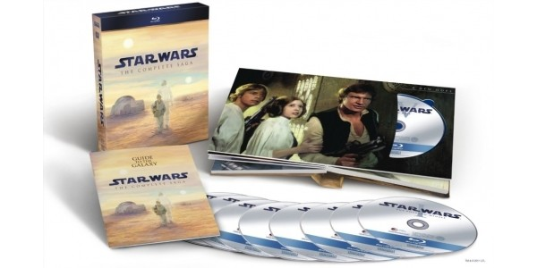 Star Wars The Complete Saga Blu-Ray Box Set $60 @ Walmart