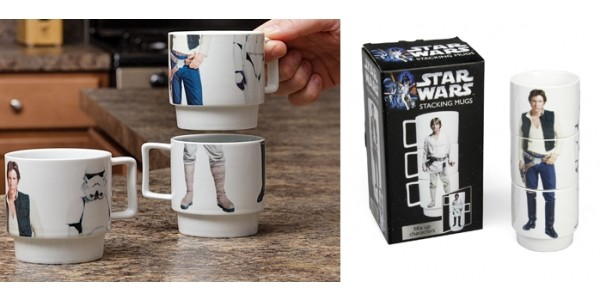 Star Wars Stacking Characters Mugs $6 @ Best Buy