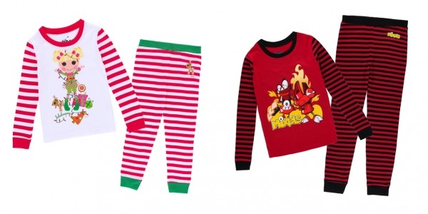 Kids Cotton Character Pajama Sets from $2 @ Hollar