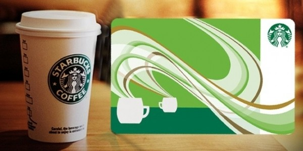 $10 Starbucks eGift Card ONLY $5 @ Groupon