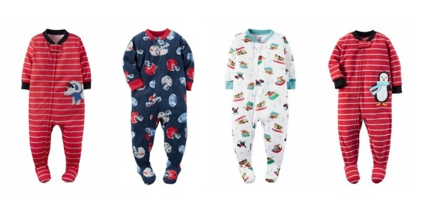 Carters Footed Pajamas $4.50 @ JCPenney
