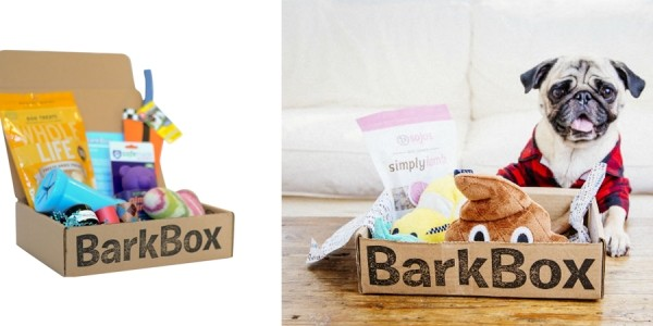 Get Monthly Goody Boxes For Your Dogs from $20 @ BarkBox