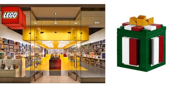 FREE Mini Model Build LEGO Present Mini Model @ LEGO