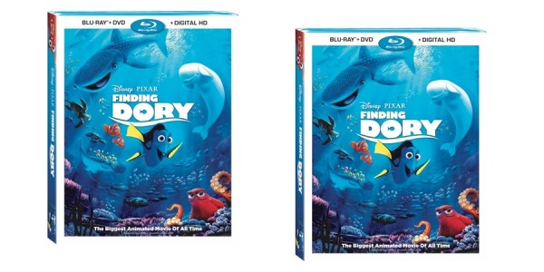 Finding Dory (Blu-ray + DVD + Digital HD) $15 @ Walmart