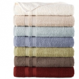 6 Bath Towels For $20 @ JCPenney