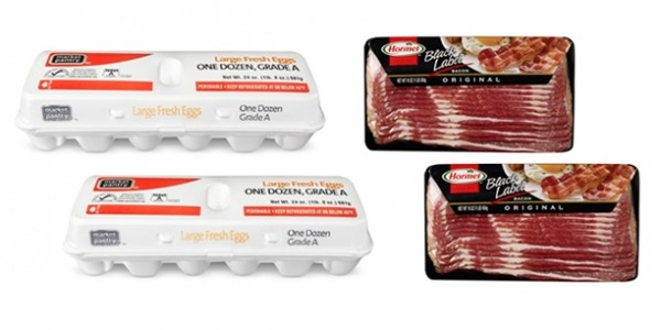 50% Off Hormel Bacon and Market Pantry Eggs @ Target