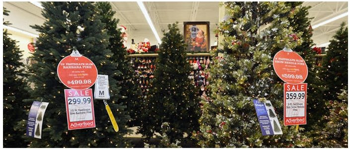 Get 50% Off All Christmas Trees, Decor & Supplies @ Hobby Lobby