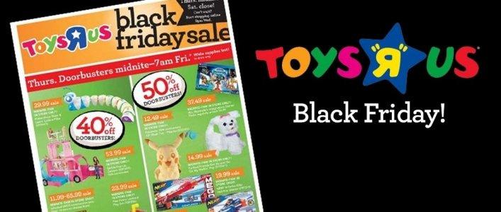 Toys R Us Black Friday Deals 2016