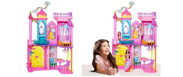 Barbie Rainbow Cove Princess Castle Just $49