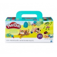 2 Play-Doh Super Color 20 Packs $13.35