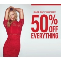 50% Off Everything + Free Shipping @ Express