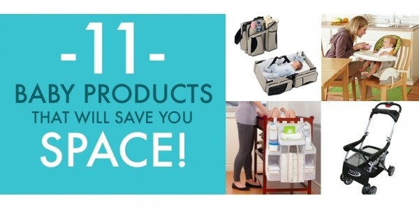 11 Space Saving Baby Products Every Mom Needs